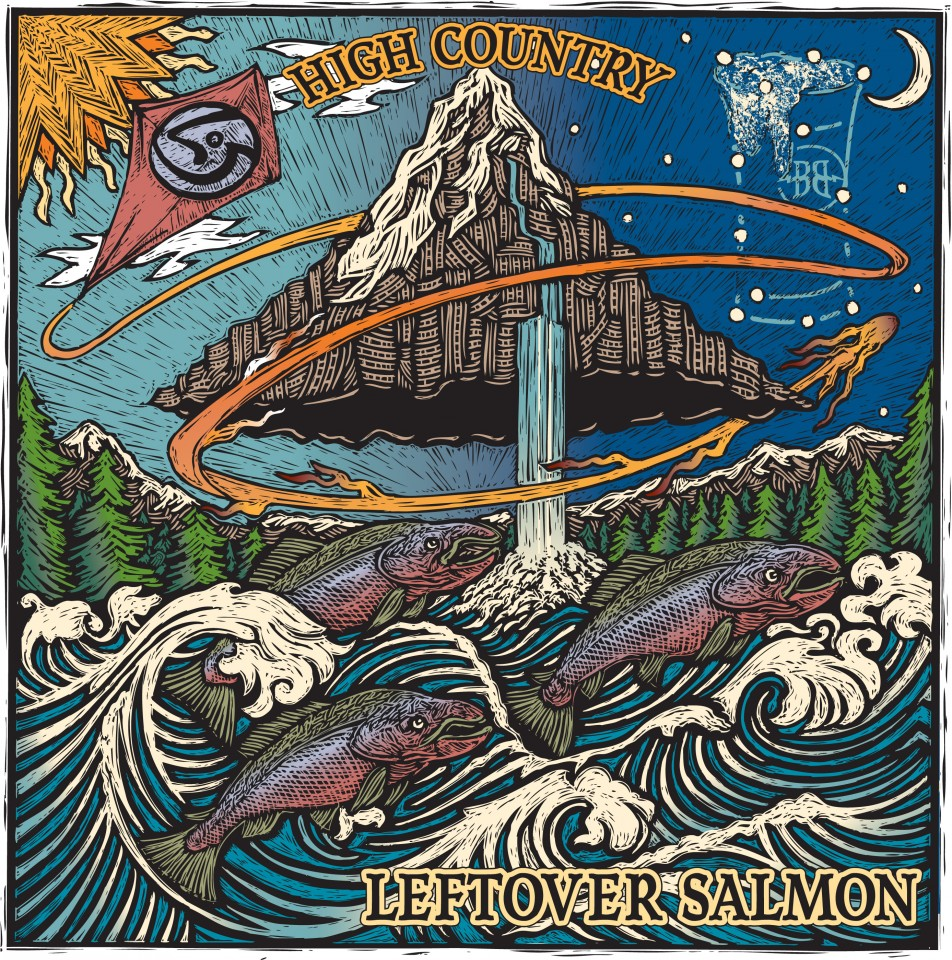 Постер Leftover Salmon - High country - Лэфтовер Сэлмон