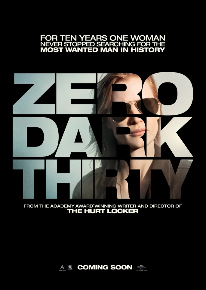 Постер Zero Dark Thirty - Цель номер один
