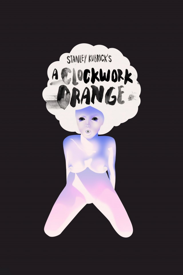 Постер A Clockwork Orange - Заводной апельсин