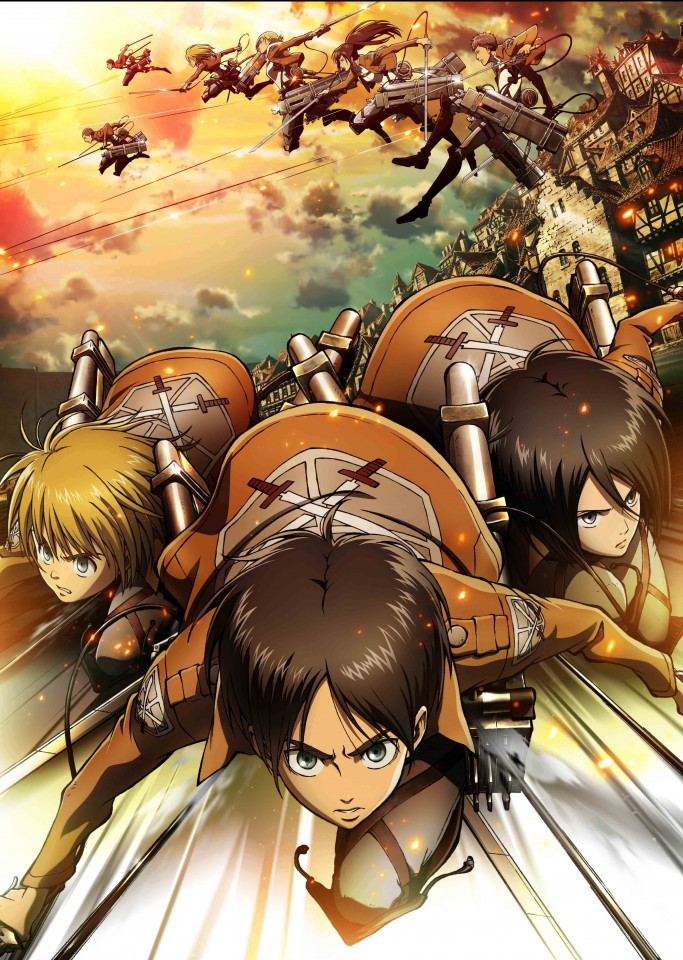 Постер Attack on Titan - Атака Титанов