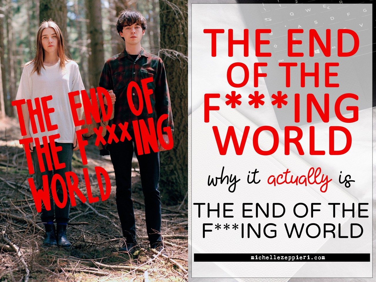 Постер The End Of The F***ing World - Конец ***го мира