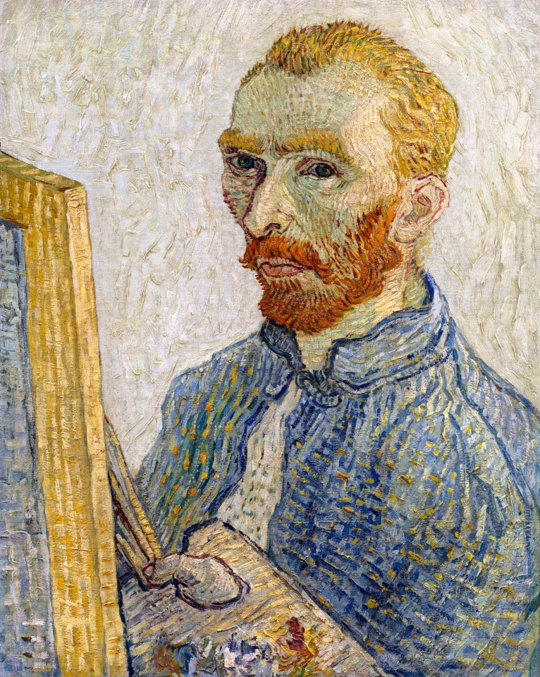 Постер Self Portrait - Van Gogh - Автопортрет - Ван Гог