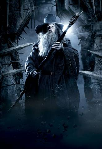 Tolkien - Hobbit - Gandalf