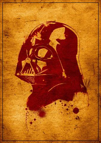 Star Wars - Darth Vader Retro