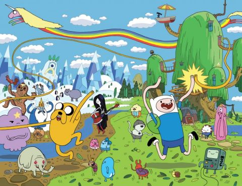Adventure Time with Finn & Jake