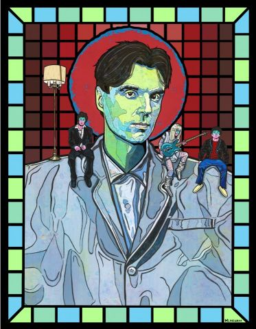 Saint David Byrne
