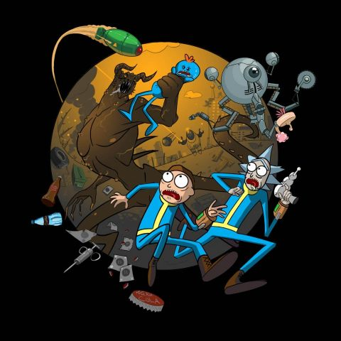 Rick and Morty - Fallout Mash Up