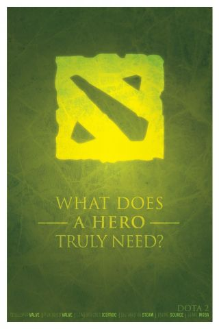 Dota 2 - What does a hero truly need?