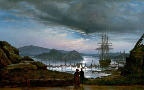 View from Vaquero - Johan Christian Dahl