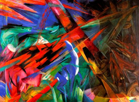 Franz Marc - the fate of animals