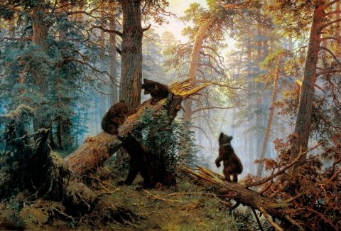 Shishkin Ivan - Morning in a Pine Forest