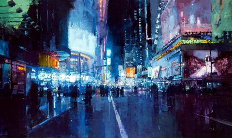 Jeremy Mann - City Dynamics