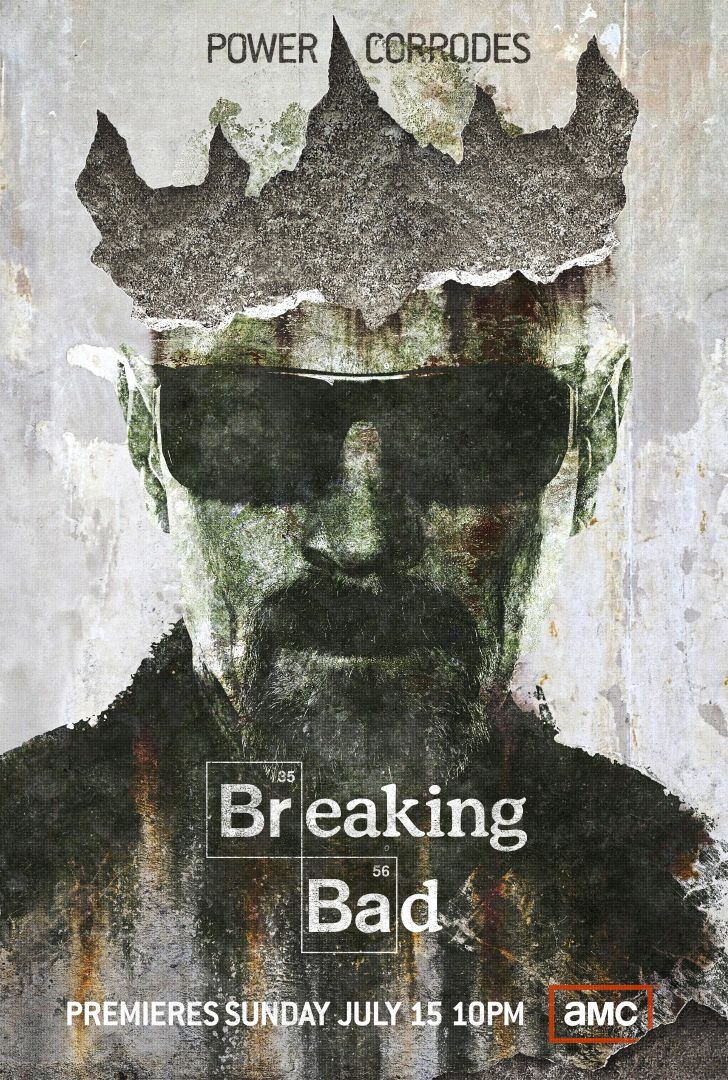 Постер Breaking Bad - Heisenberg - Во все Тяжкие - Хайзенберг