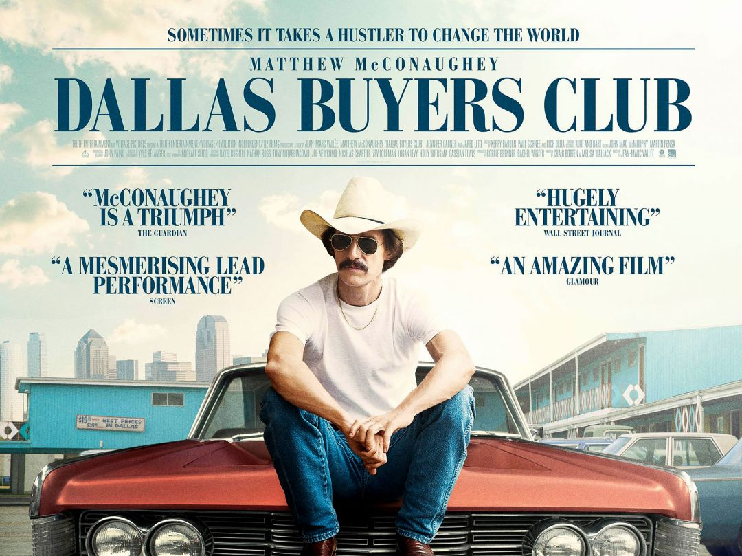 Постер Dallas Buyers Club - Далласский Клуб Покупателей
