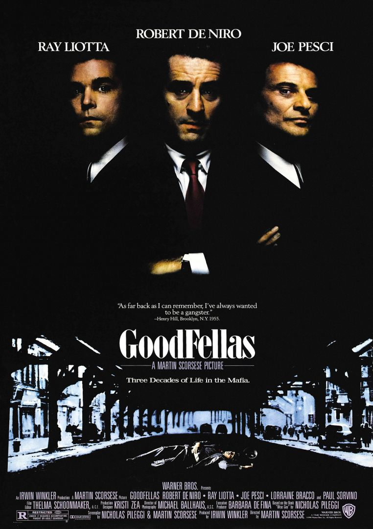 Постер GoodFellas - Славные Парни