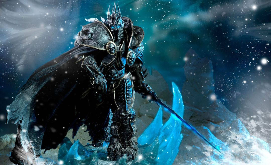 Постер Blizzard - Lich King - Близзард - Король Лич