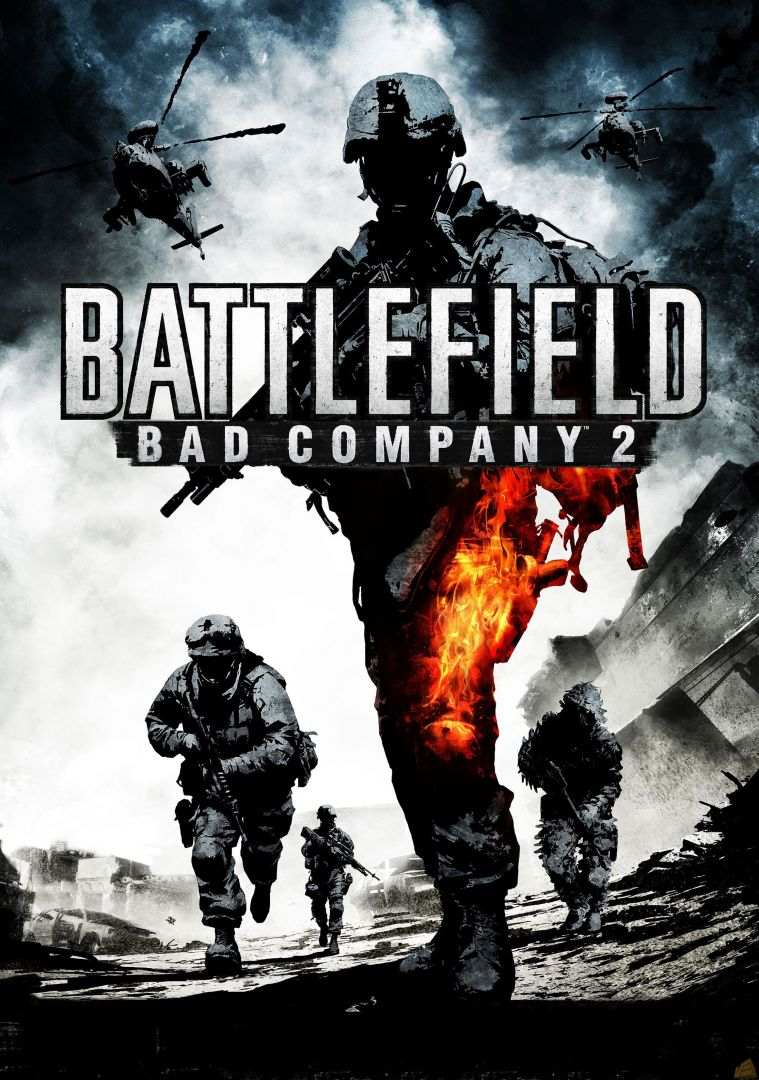 Постер Battlefield - Bad Company - Батлфилд - Дурная Компания