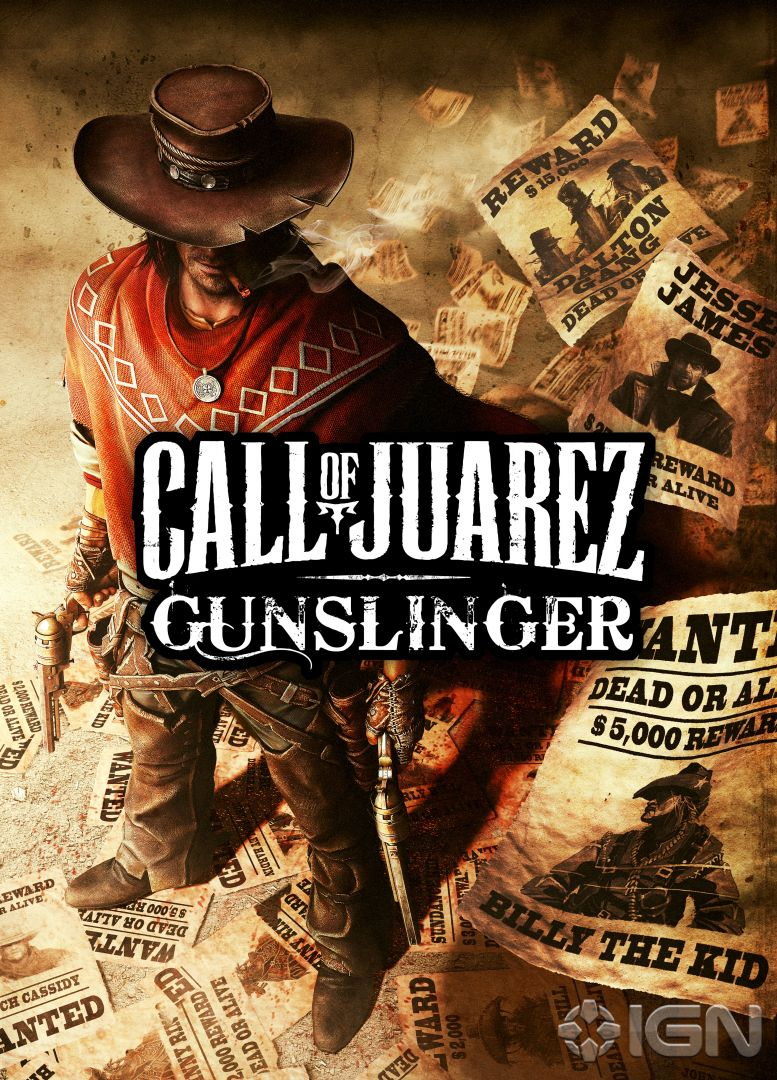 Постер Call of Juarez - Gunslinger - Зов Хуареса - Стрелок