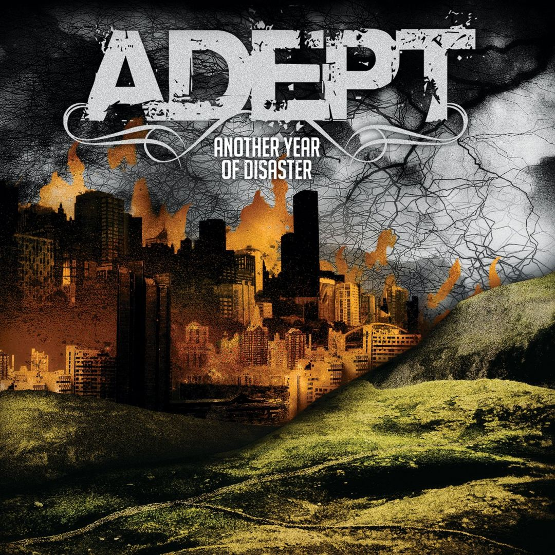 Постер Adept - Another year of disaster