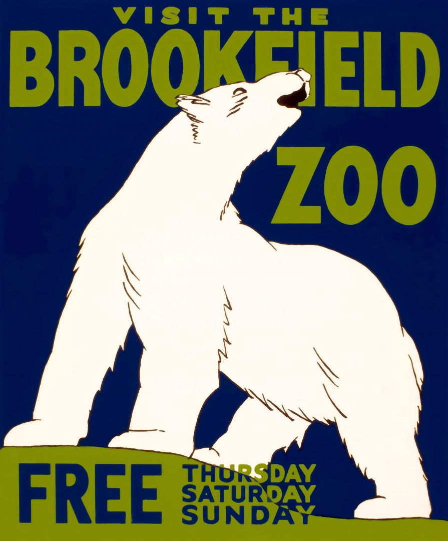 Постер Brookfield zoo - Зоопарк Брукфилда