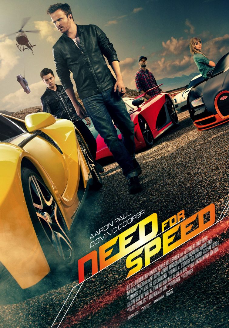 Постер Need for Speed - Жажда скорости