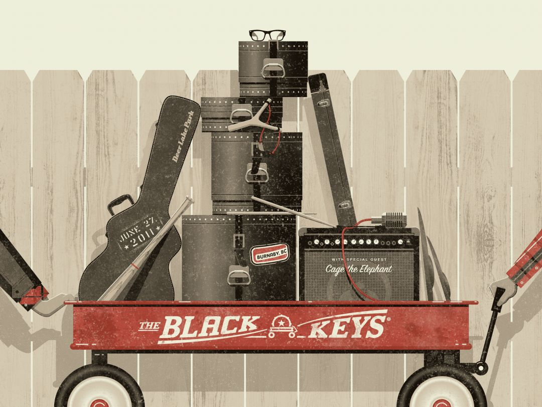 Постер The Black Keys - Блэк Кейс