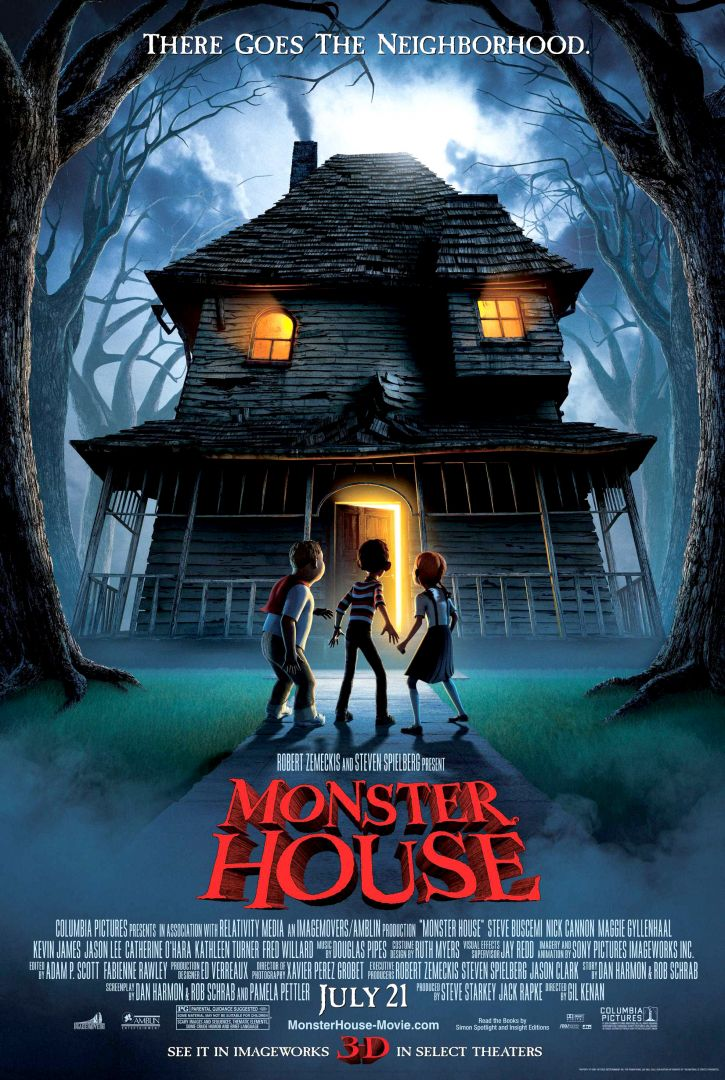 Постер Monster House - Дом-монстр,