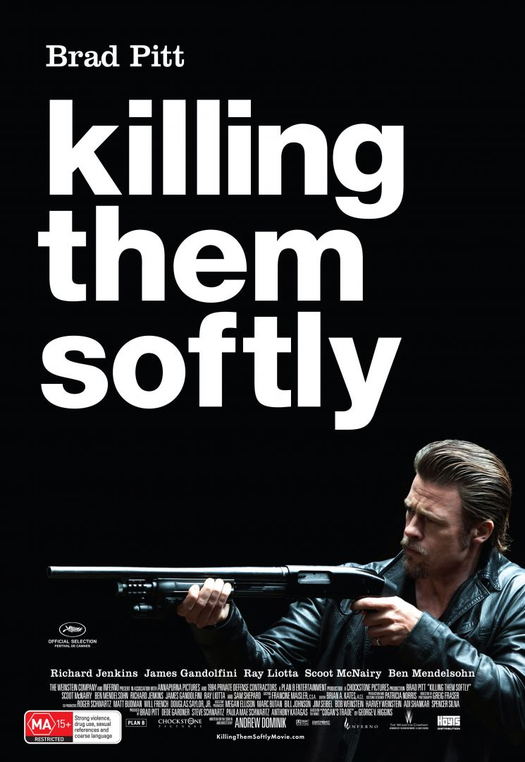 Постер Killing them softly - Ограбление казино