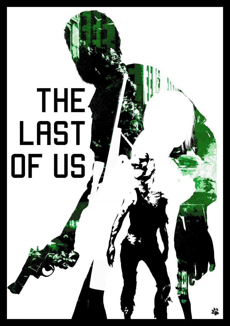 Постер The last of us - Одни из нас