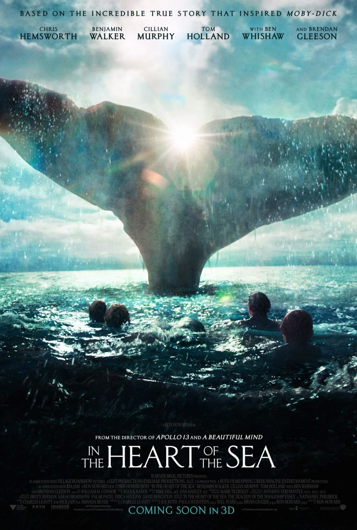 Постер In the heart of the sea - В сердце моря