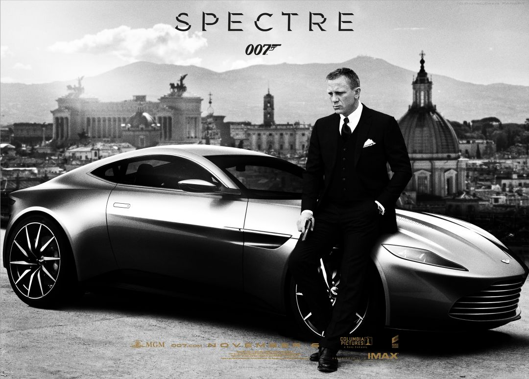 Постер James Bond - Spectre - Джеймс Бонд - Спектр