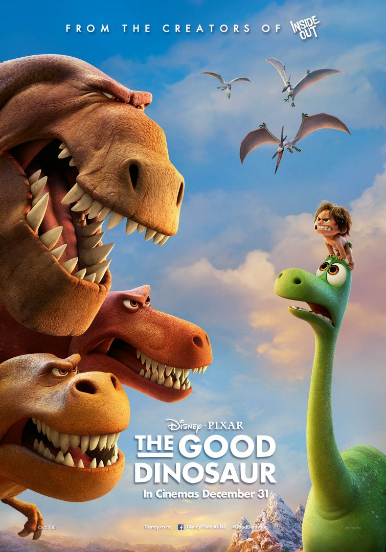 Постер The Good Dinosaur - Хороший динозавр