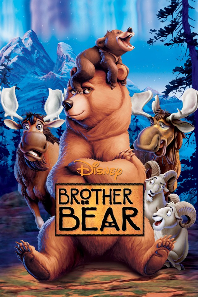 Постер Brother bear - Братец-медвежонок