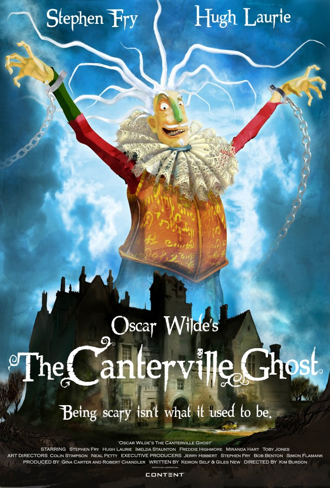 Постер The canterville ghost - Кентервильское привидение