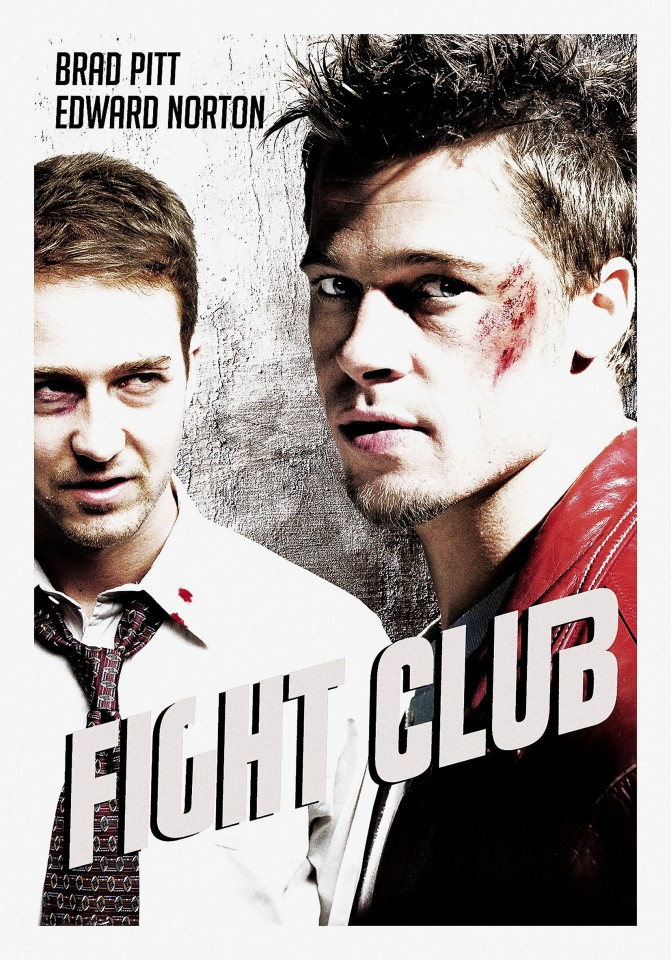 Постер Fight Club - Бойцовский Клуб