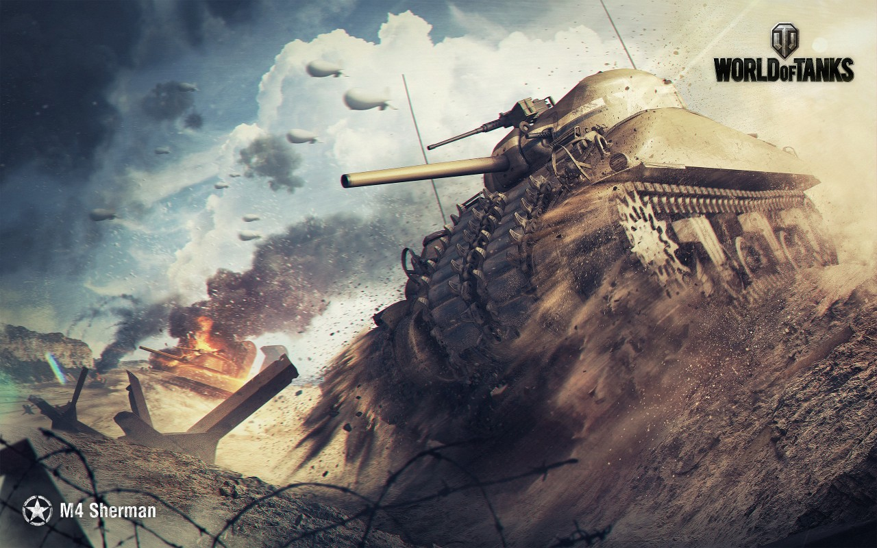 Постер World of Tanks - Ворлд оф Танкс