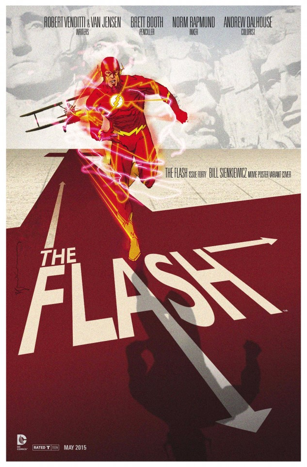 Постер The Flash - Флэш
