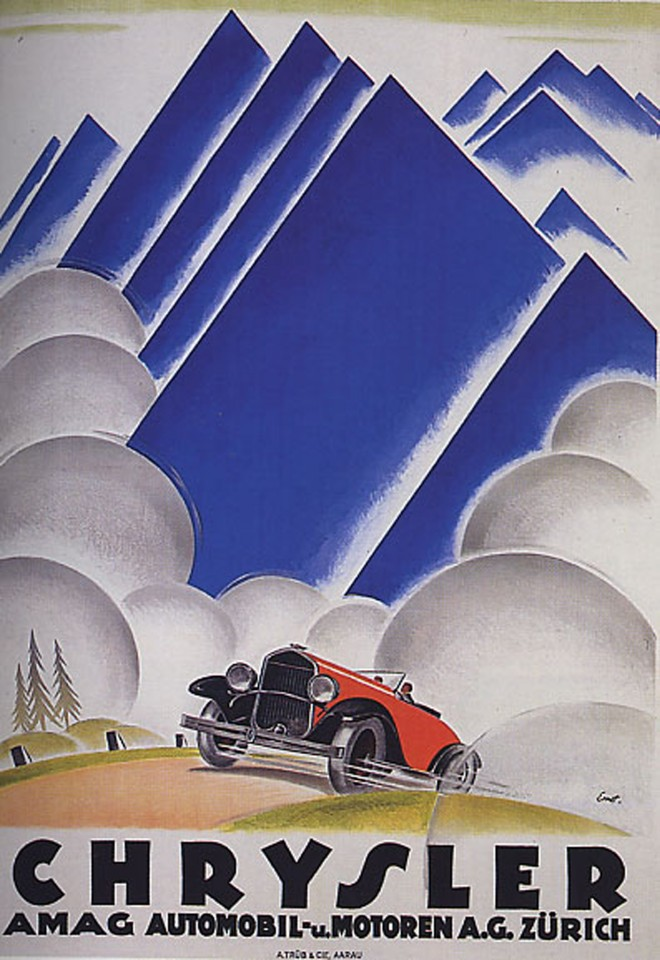 Постер Chrysler 1920's - Крайслер 1920х