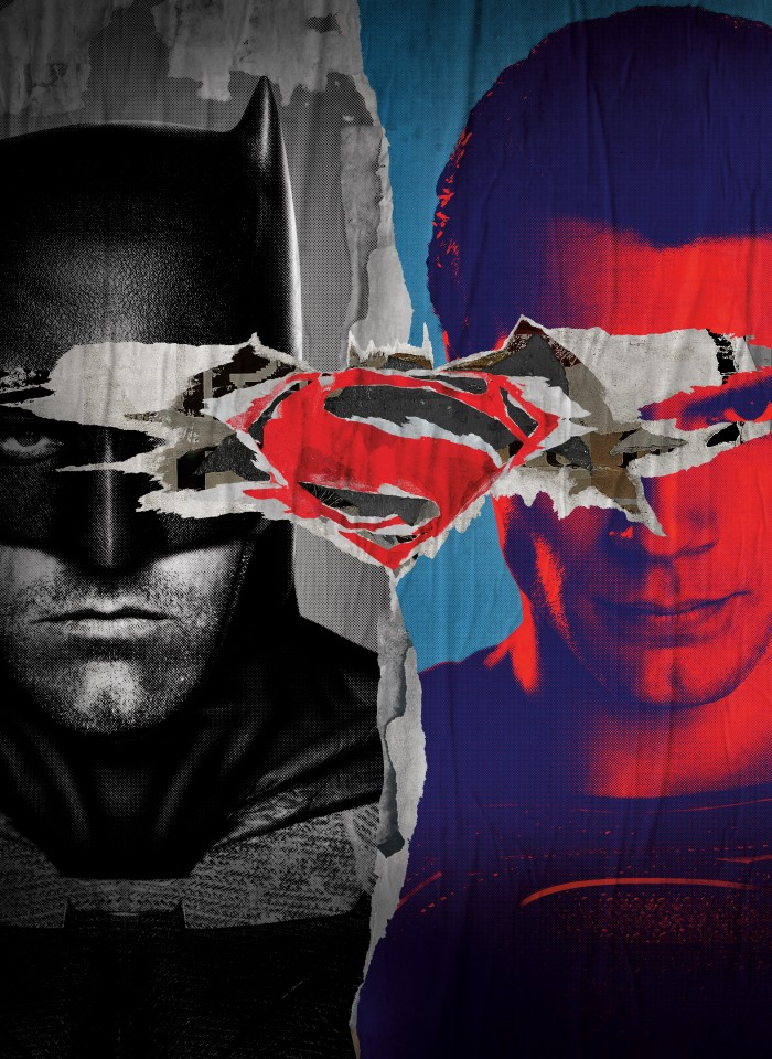 Постер Batman v Superman - Бэтмен против Супермена