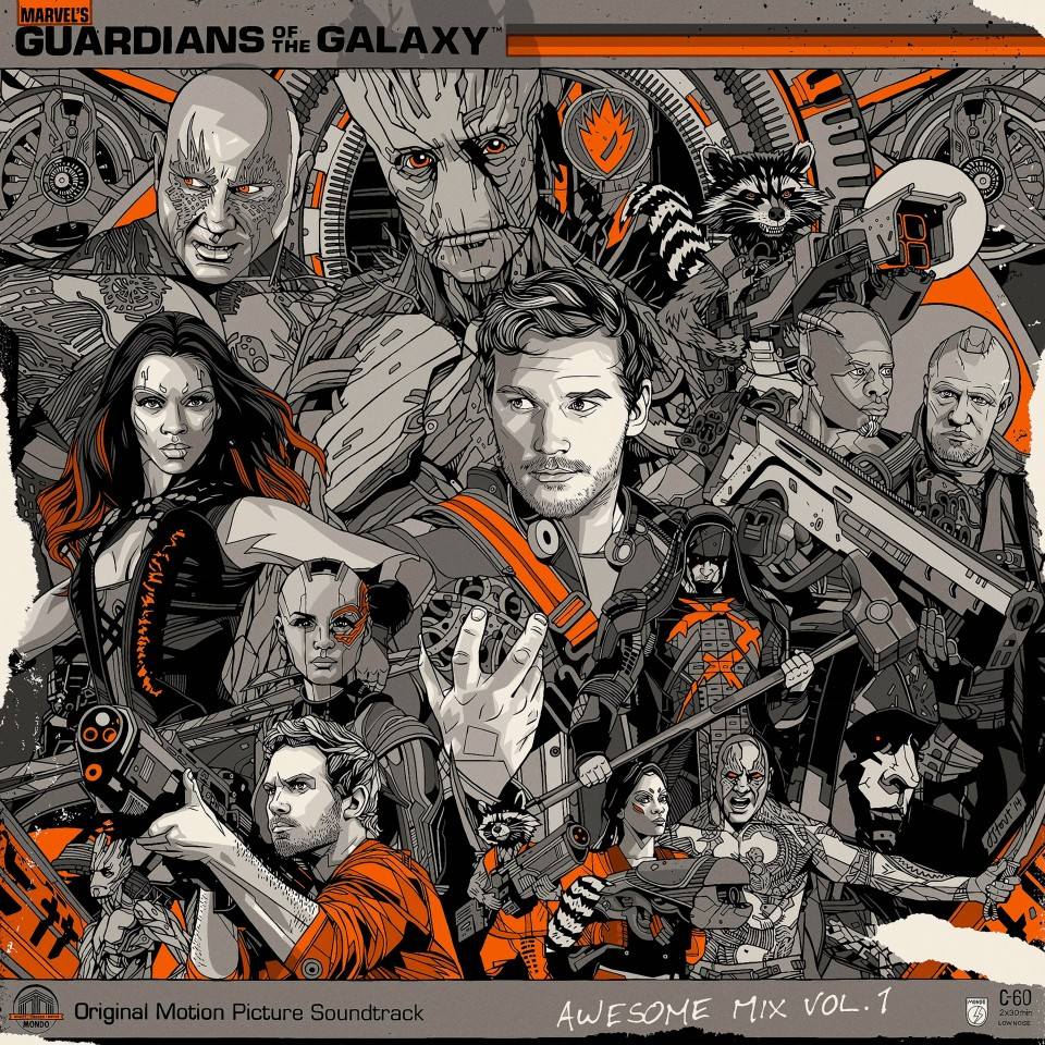 Постер Guardians of the galaxy - Стражи Галактики