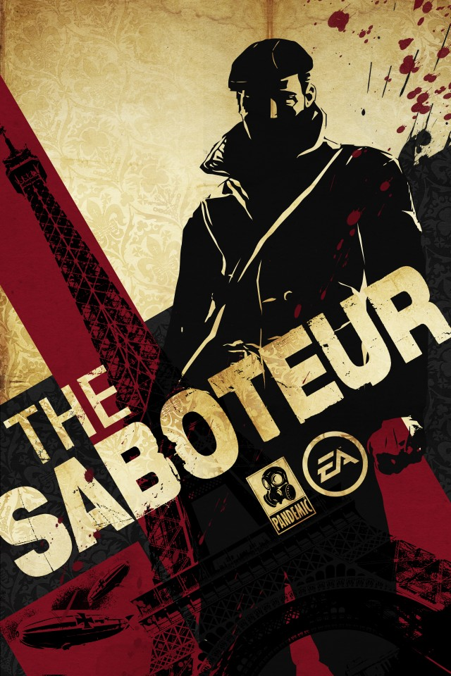 Постер The Saboteur - Диверсант