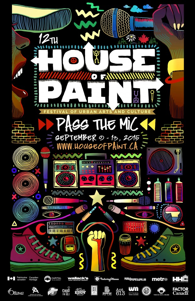Постер House of Paint - Дом Красок
