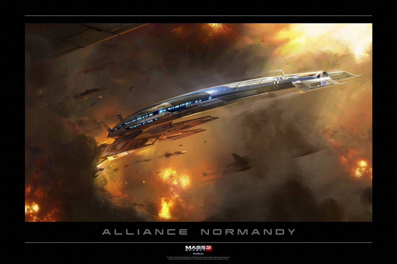 Постер Alliance Normandy - Альянс Нормандия