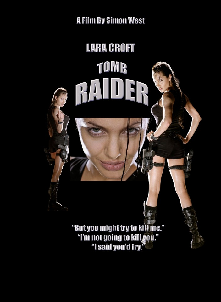 Постер Tomb Raider - Lara Croft - Лара Крофт - Расхититель Гробниц