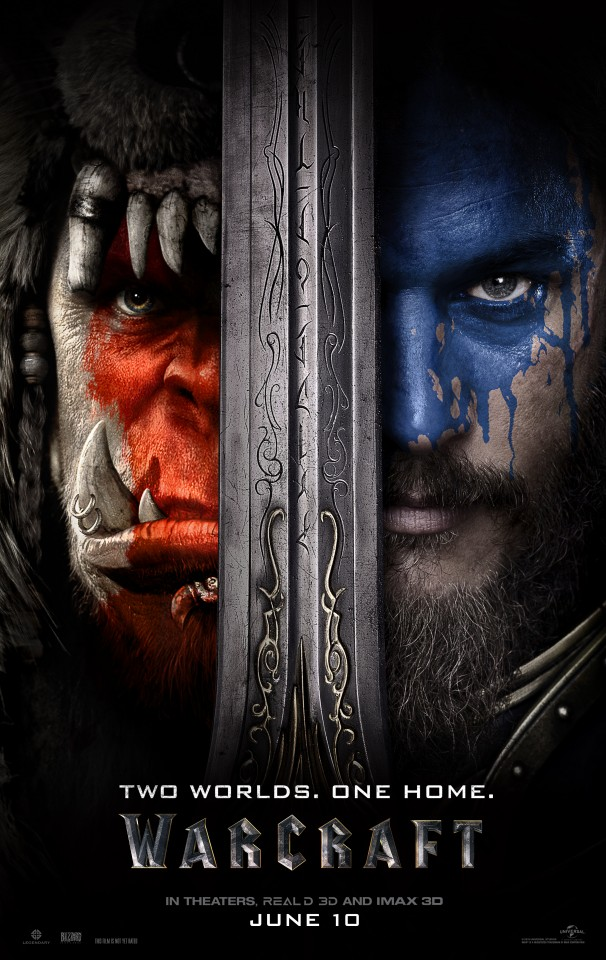 Постер Warcraft Movie - Варкрафт Фильм