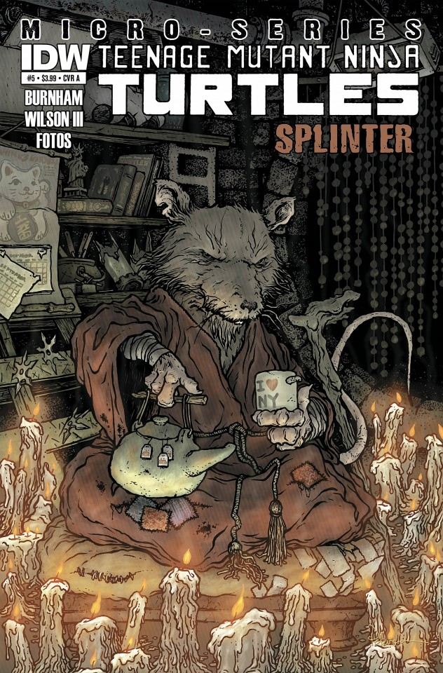 Постер TMNT - Master splinter - Черепашки ниндзя - Сплинтер
