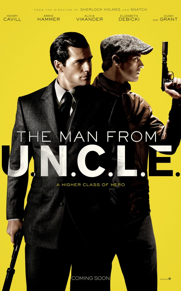 Постер The Man from U.N.C.L.E. - Агенты А.Н.К.Л.