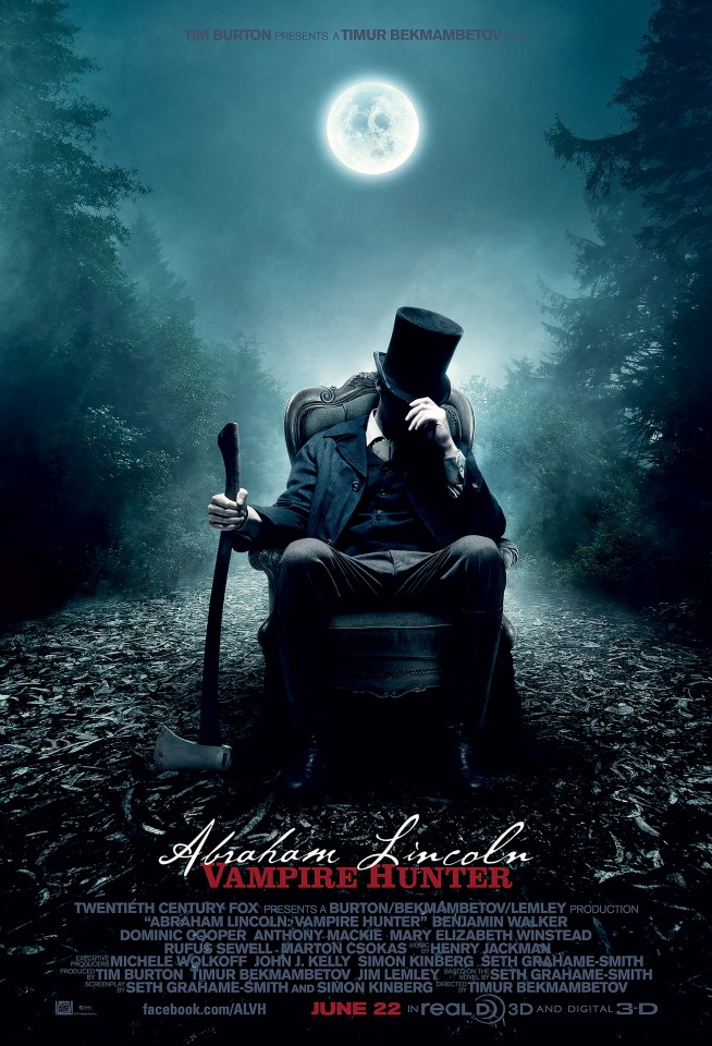 Постер Abraham Lincoln: Vampire Hunter - Президент Линкольн: Охотник на вампиров