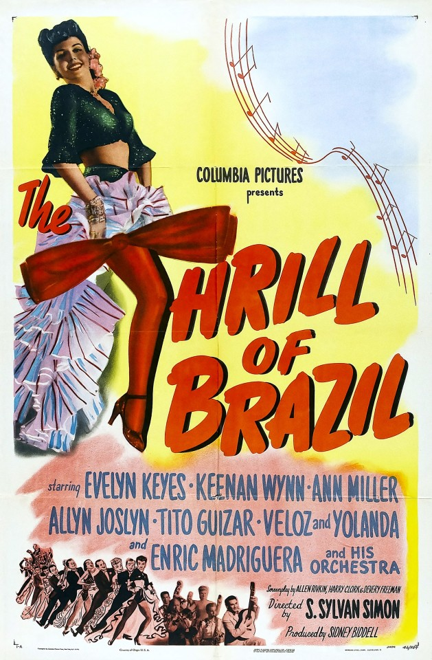 Постер The hrill of Brazil - Трепет Бразилии