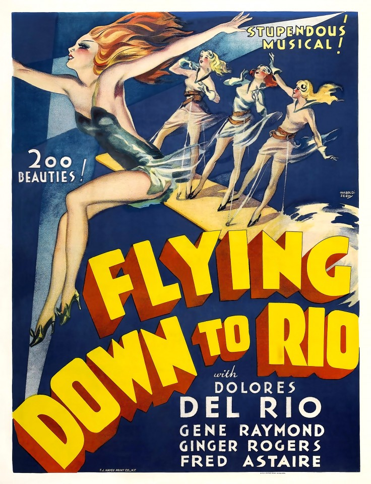 Постер Flying Down to Rio - Полёт в Рио